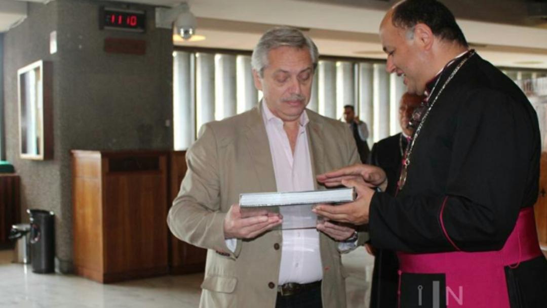 Foto: Fernández Reyes asumirá el cargo el 10 de diciembre, tras su triunfo electoral del 27 de octubre, 3 de noviembre de 2019 (Twitter @INBGuadalupe)