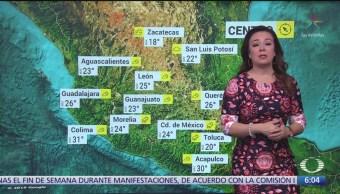 FOTO: Prevén lluvias puntuales en BCS y SInaloa, 18 noviembre 2019