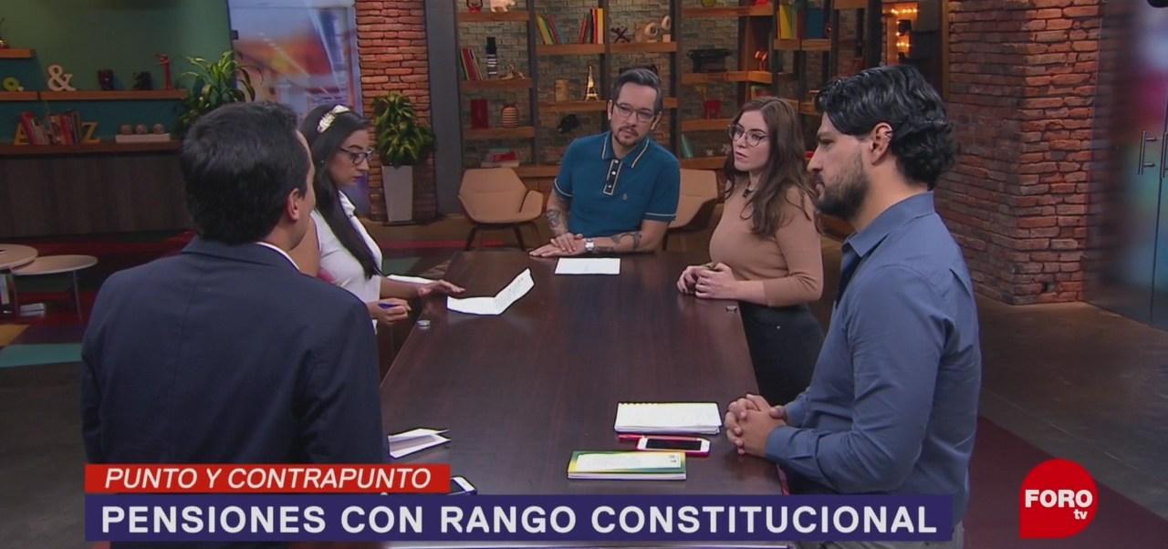 Foto: Propone Amlo Pensiones Rango Constitucional 19 Noviembre 2019