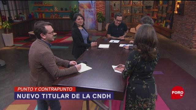 Foto: Prorrogan Designación Cndh 1 Noviembre 2019