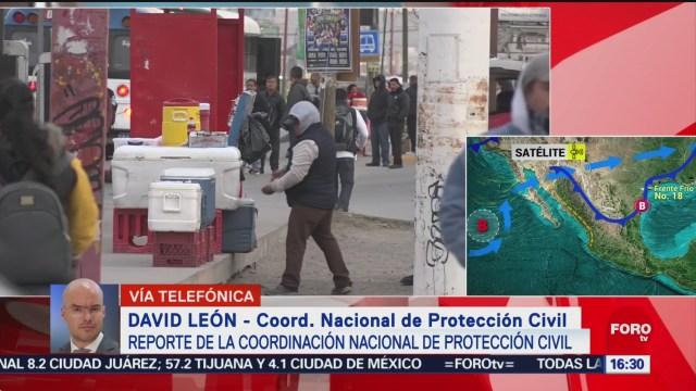 proteccion civil monitorea actividad del volcan popocatepetl