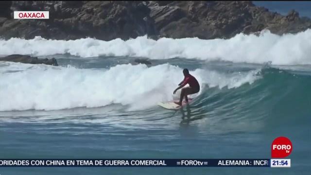 Foto: Torneo Surfing Personas Discapacidad Puerto Escondido 7 Noviembre 2019
