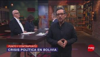 FOTO:Punto y Contrapunto, con Genaro Lozano- Programa del 15 de noviembre de 2019, 15 noviembre 2019
