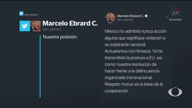 Foto: Estados Unidos Declare Cárteles Mexicanos Terroristas 26 Noviembre 2019