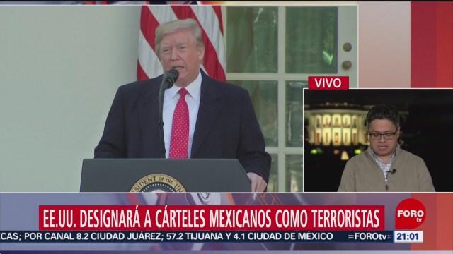 Foto: Cárteles Mexicanos Sean Catalogados Terroristas Significado 26 Noviembre 2019