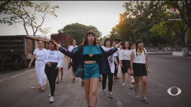 Foto: Rapera Colima Canta Contra Violencia Género 25 Noviembre 2019