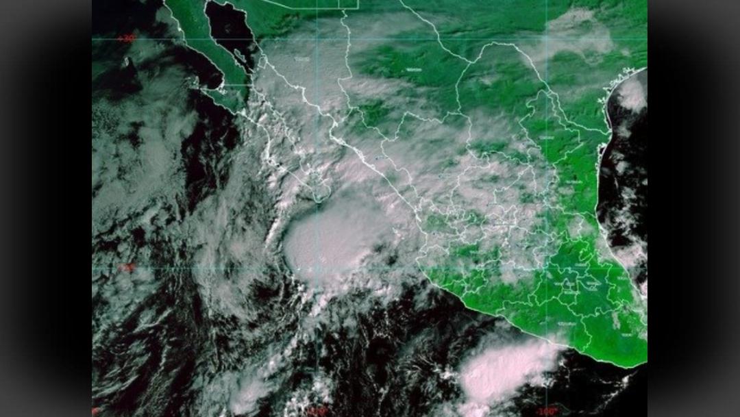 "IMAGEN ""Raymond"" se debilita, pero amenaza con lluvias a Los Cabos, BCS (Conagua)"