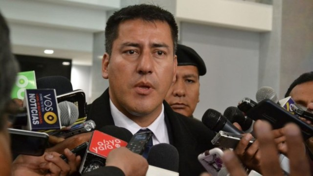 FOTO Renuncia el ministro de Defensa boliviano, Javier Eduardo Zavaleta