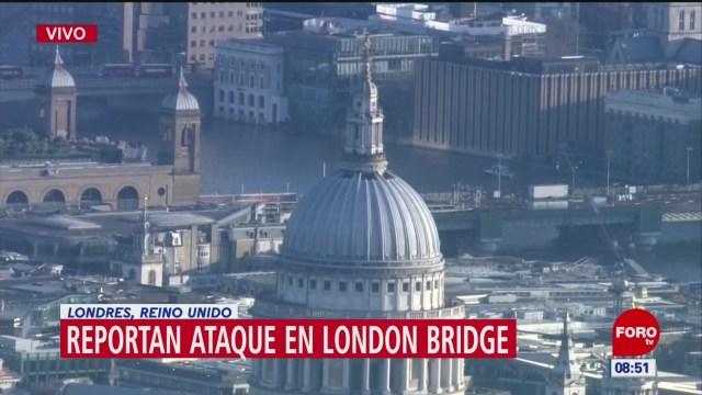 Reportan ataque en London Bridge