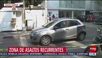 FOTO: Reportan dos asaltos últimos días colonia Insurgentes San Borja