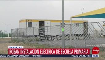 Foto: Roban Instalación Eléctrica Escuela Nuevo León 7 Noviembre 2019