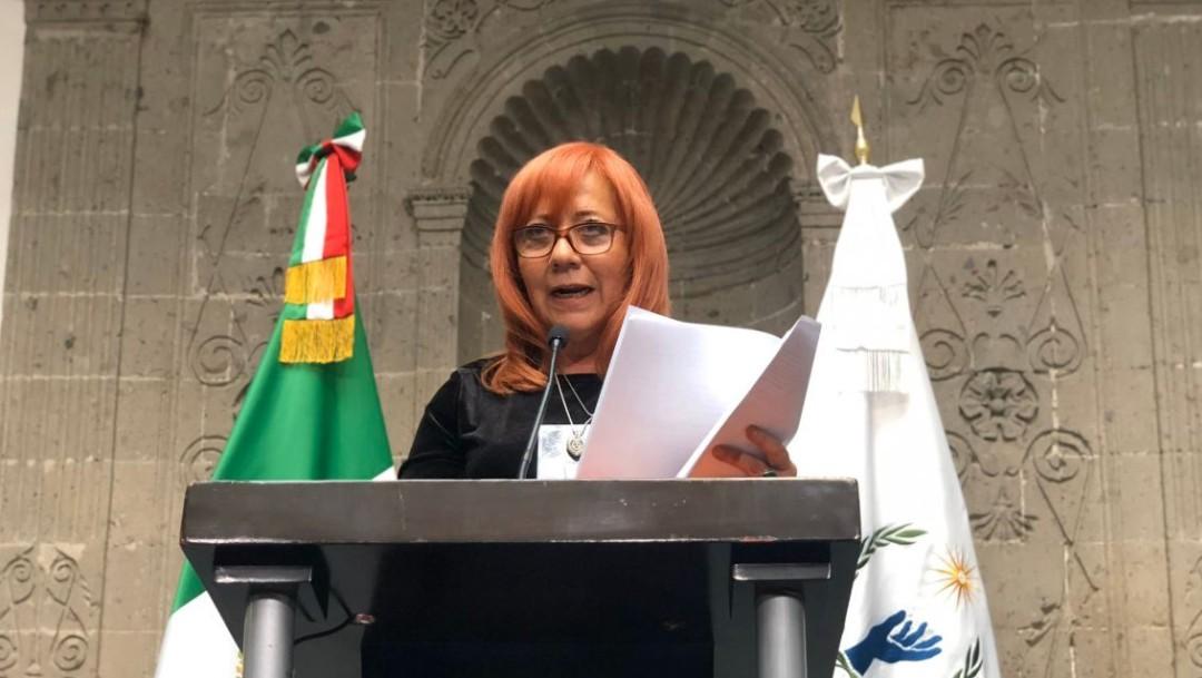 Foto: Rosario Piedra Ibarra, titular de la CNDH, dijo que México atraviesa por una crisis humanitaria, el 21 de noviembre de 2019 (Twitter @CNDH)