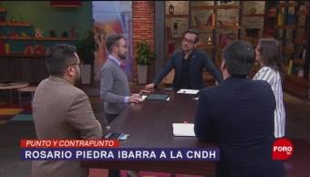 FOTO: Rosario Piedra Ibarra a la CNDH, 11 noviembre 2019
