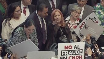 FOTO: Rosario Piedra rinde protesta como presidenta de la CNDH, 12 noviembre 2019