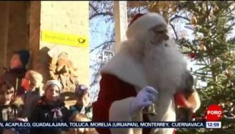 Santa Claus abre oficina para recibir cartas en varios idiomas y Braille