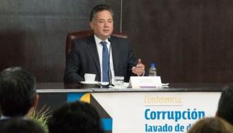 Santiago Nieto, titular de la Unidad de Inteligencia Financiera de Hacienda