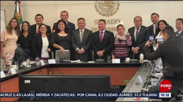 FOTO: Santiago Nieto dialoga Senado sobre Ley Antilavado