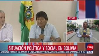 FOTO: Se Desconoce Dónde Está Evo Morales,