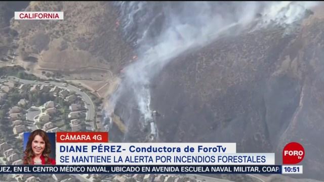 FOTO: Se mantiene la alerta por incendios en California, 2 noviembre 2019