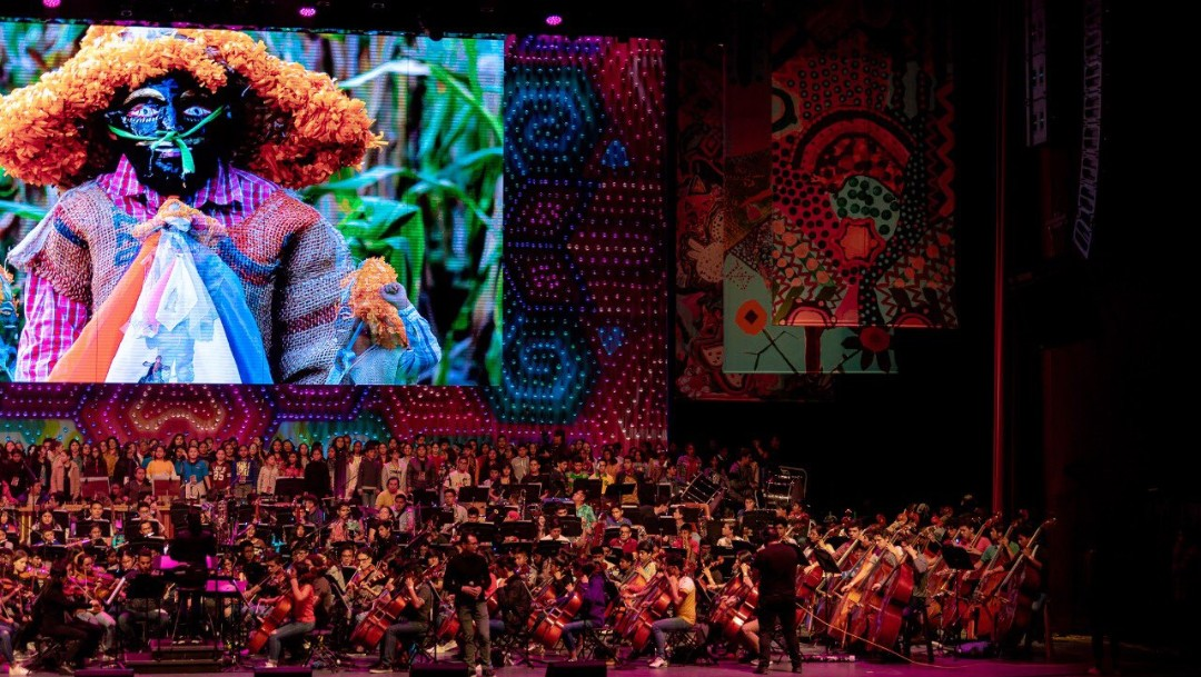 Se presenta concierto 'Tengo un Sueño' en Auditorio Nacional