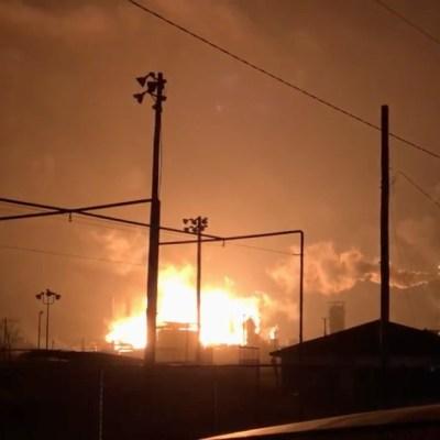 Se registra explosión en planta petroquímica en Texas