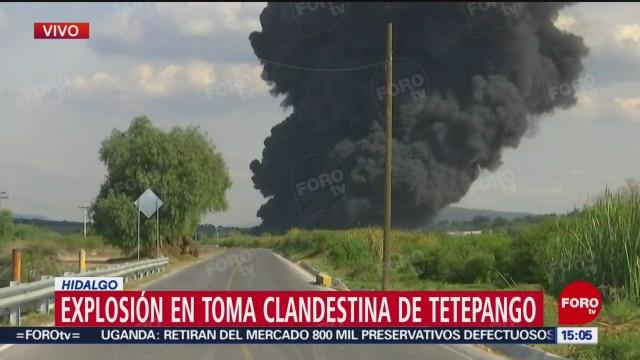 FOTO: Video Incendio Toma Clandestina Hidalgo