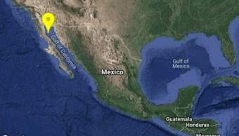 IMAGEN Se registra sismo de magnitud 4.2 en Baja California. (SSN)