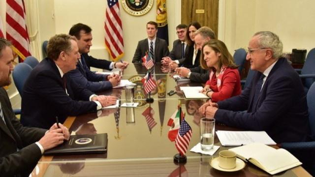 Seade y funcionarios de EE.UU. y Canadá dialogan sobre T-MEC