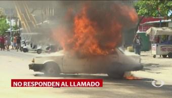 FOTO: Segundo día de disturbios en Xaltianguis, 12 noviembre 2019
