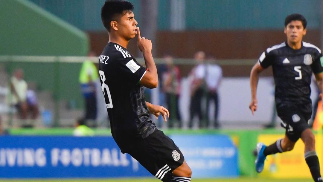 Foto: México derrotó a Holanda y llegó a su tercera Final de la categoría, el 14 de noviembre de 2019 (Foto: Twitter Selección Mexicana)