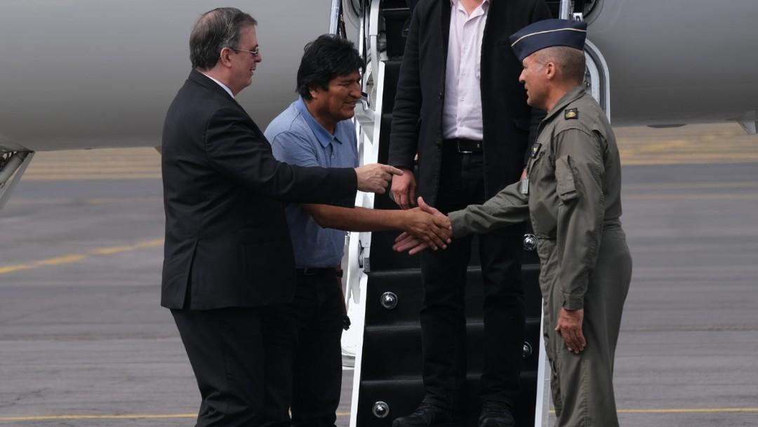 FOTO Senado avala ascenso de piloto que trasladó a Evo Morales de Bolivia a México. (Graciela López-cuartoscuro)