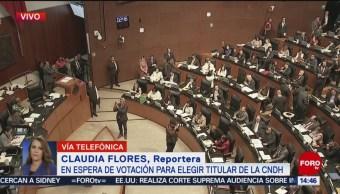 FOTO: Senado espera votación para elegir titular CNDH