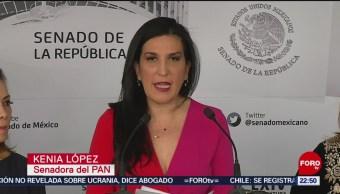 FOTO:Senadores del PAN y Morena se enfrentan por Rosario Piedra,10 Noviembre 2019