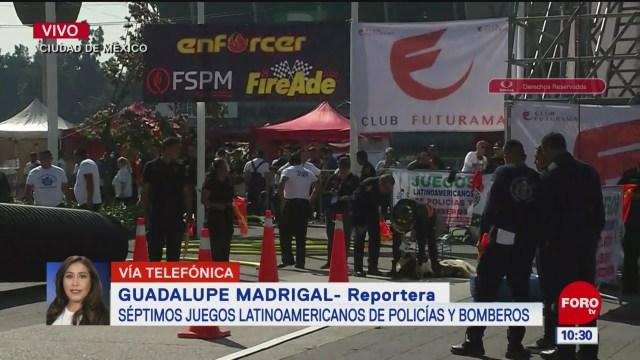 Séptimos Juegos Latinoamericanos de Policías y Bomberos en CDMX