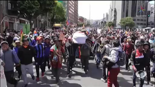 Foto: Protestas América Latina Ola Continua 21 Noviembre 2019