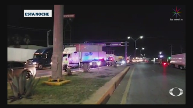 Foto: Enfrentamientos Nuevo Laredo Tamaulipas 19 Noviembre 2019