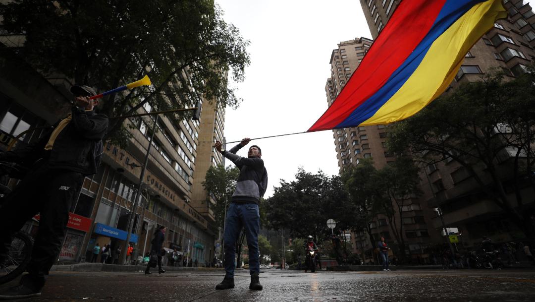 FOTO Sindicatos llaman a nuevo paro en Colombia este jueves (AP)