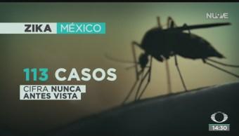 FOTO: Suman 113 casos zika país