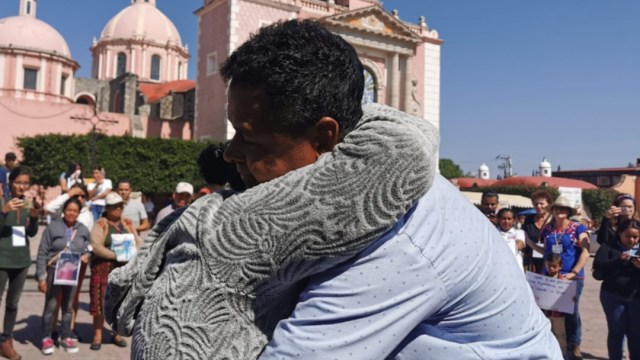 Foto: La Caravana de Madres Centroamericanas cumple 15 años de buscar pistas para dar con el paradero de sus hijos que desaparecieron en el territorio mexicano, 23 de noviembre de 2019 (Movimiento Migrante Mesoamericano /Cuartoscuro.com)