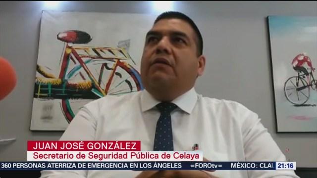 Foto: Renuncia Director Policía Celaya Tras Atentado 22 Noviembre 2019