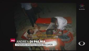 FOTO: Tripulante del 'Remas' narra cómo el asalto al barco italiano, 14 noviembre 2019