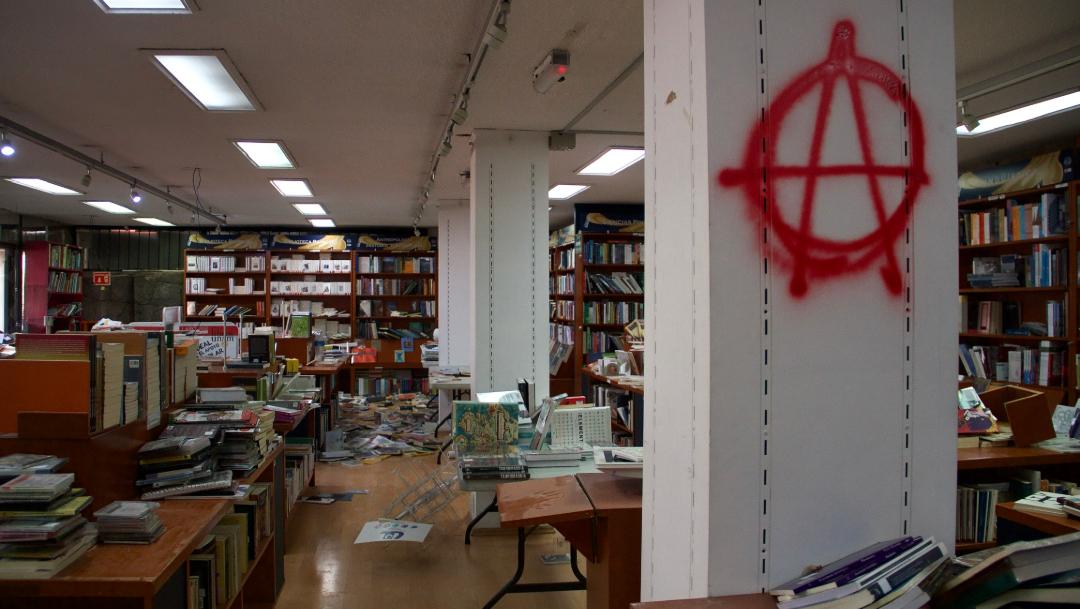 """FOTO Directivos de la UNAM rechazan """"intromisión de grupos delincuenciales"""" (Cuartoscuro/Andrea Murcia)"""