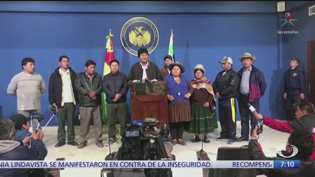 Vacío de poder en Bolivia