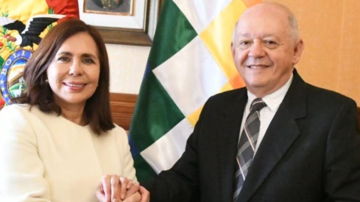 Walter Oscar Serrate , nuevo embajador de Bolivia en Estados Unidos.