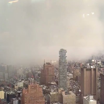 Video: Impactante tormenta de nieve invade Manhattan en minutos