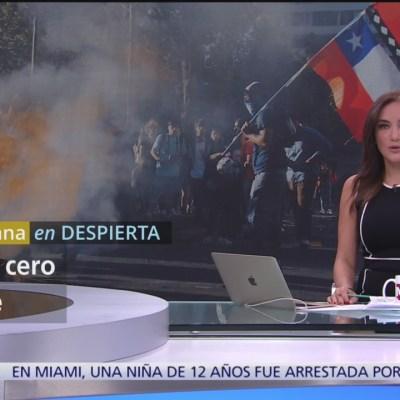 50 días de manifestaciones en Chile