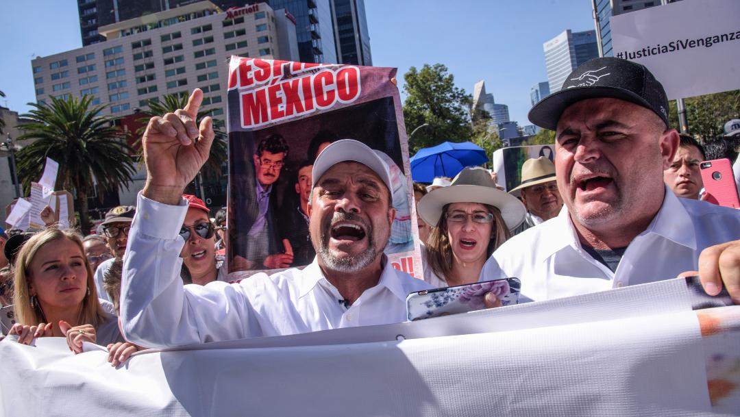 Foto: Julián LeBarón se declara listo para su reunión con AMLO , 1 de diciembre de 2019, (MARIO JASSO /CUARTOSCURO.COM)