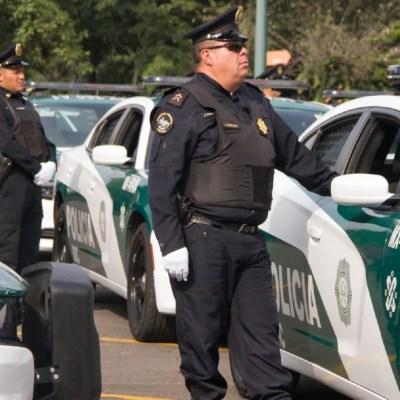 FOTO: Detienen a hombre por herir con arma a un policía en Viaducto, el 16 de febrero de 2020