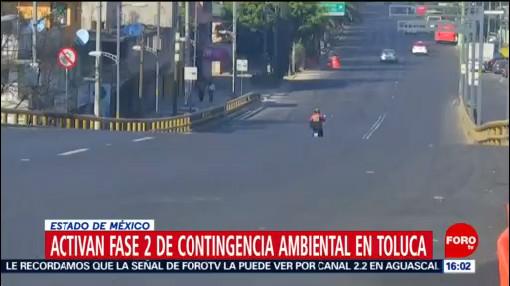 Foto: Activan Fase Ii Contingencia Ambiental Valle Toluca 25 Diciembre 2019