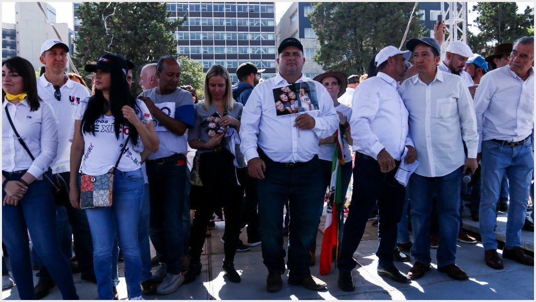 Foto: La familia LeBarón estuvo en la marcha cotra López Obrador, 1 de diciembre de 2019 (GALO CAÑAS /CUARTOSCURO.COM)